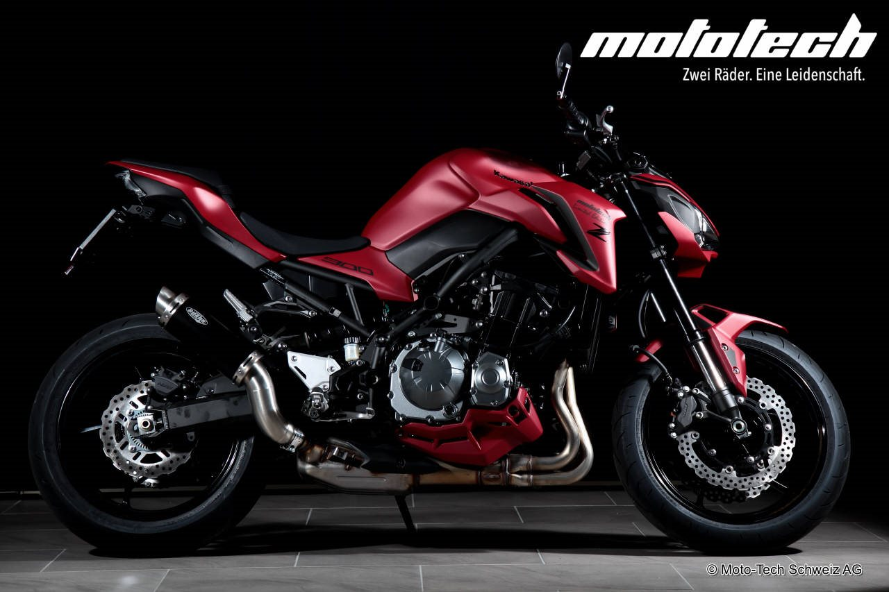 neumotorrad kawasaki z900 2018 rot matt 35 92kw. Black Bedroom Furniture Sets. Home Design Ideas