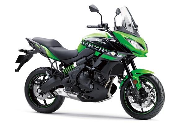 Kawasaki Versys 650 Lime Green
