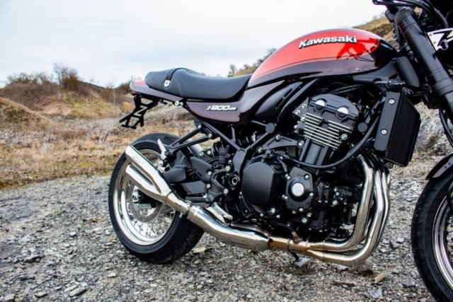 Neumotorrad Kawasaki Z900RS Umbau Vorfuhrer Baujahr Preis