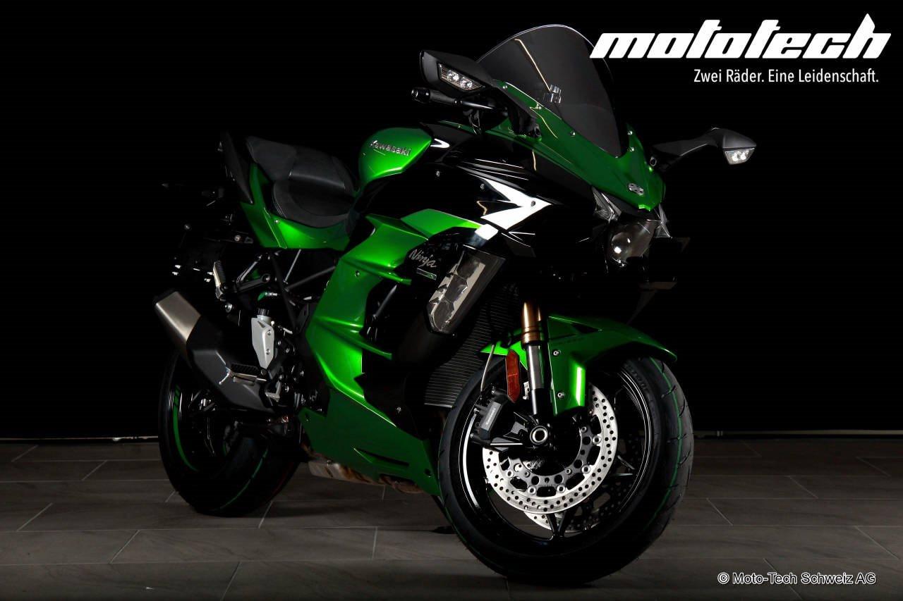 Motorrad Occasion Kawasaki Ninja H2 Sx Se Abs Erstzulassung 2200
