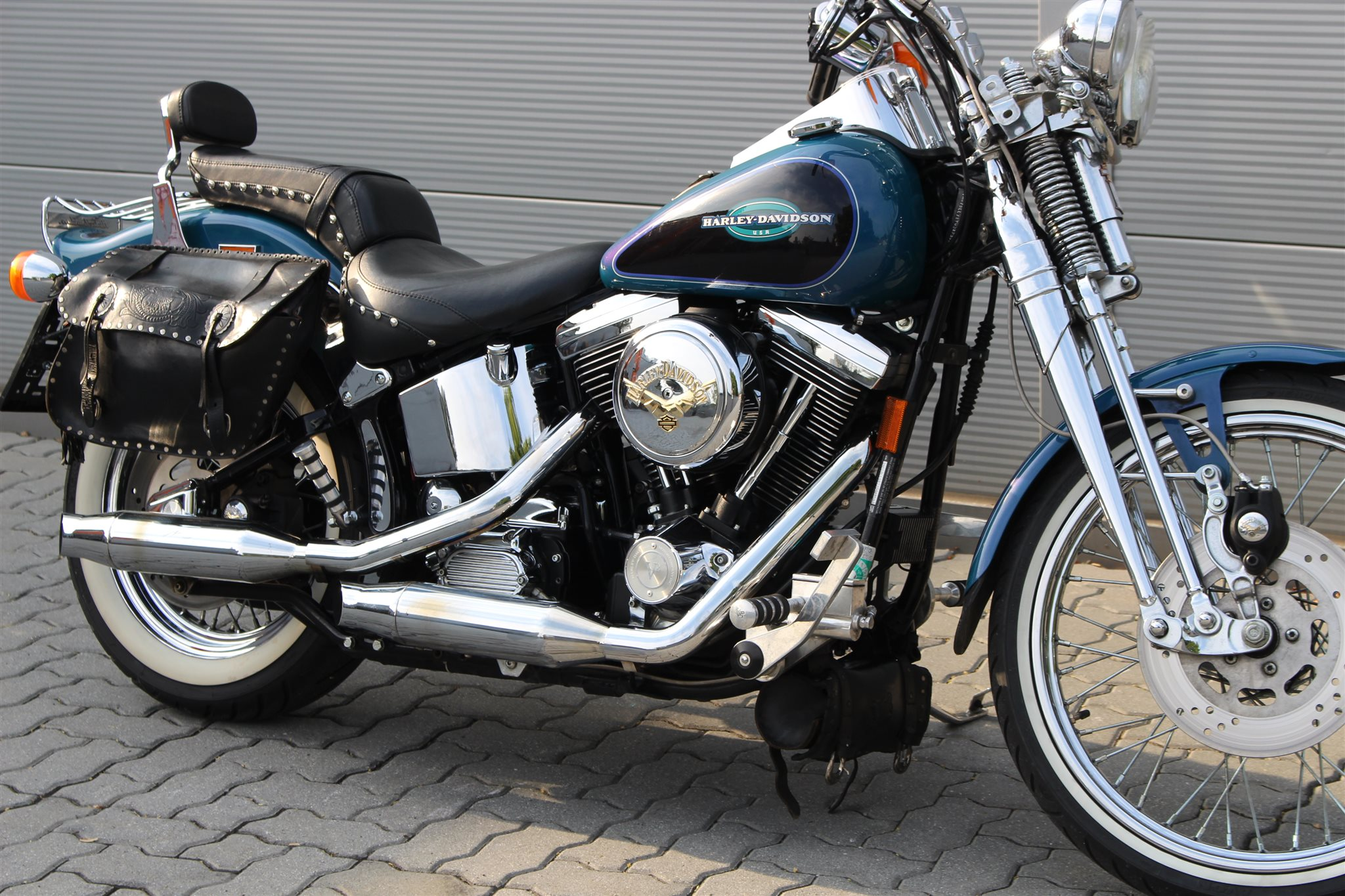 gebrauchte harley davidson softail springer fxsts. Black Bedroom Furniture Sets. Home Design Ideas