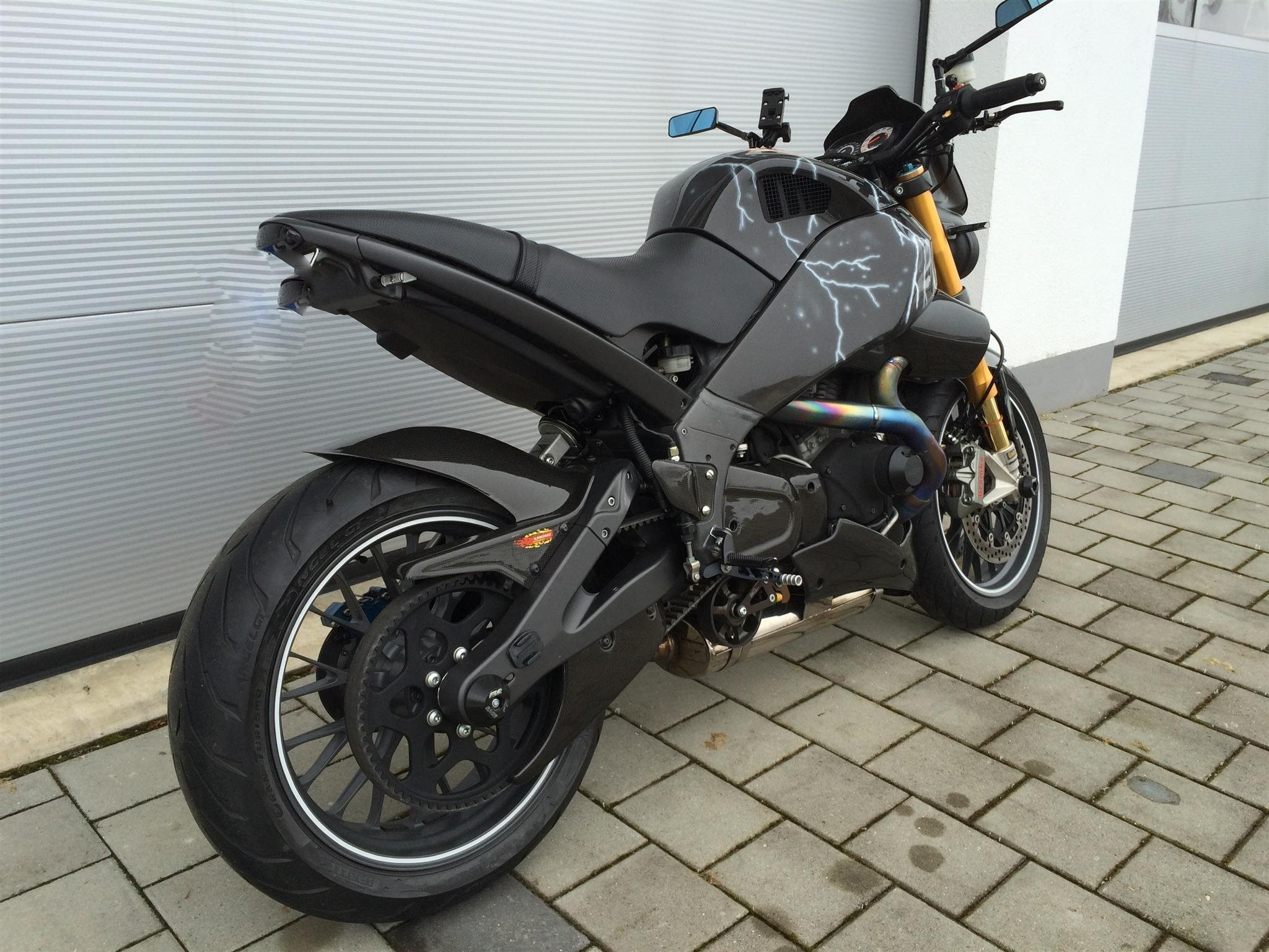 2011 Buell XB-1125CR GM Special 12