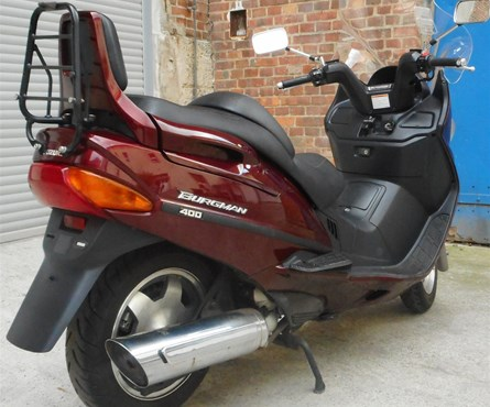 Gebrauchtmotorrad Suzuki Burgman 400