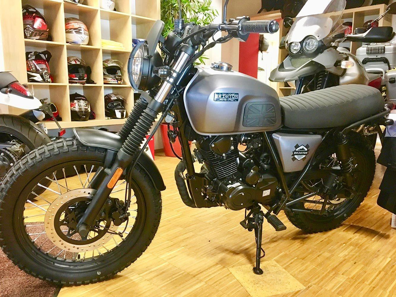 Neumotorrad: Brixton Felsberg 125 XC, Baujahr: 2020, 3.980