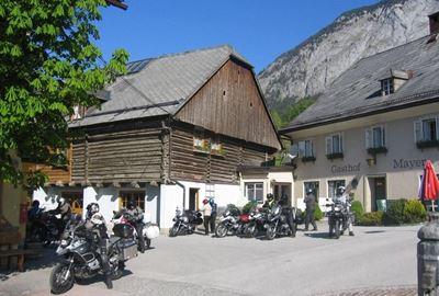 Motorrad Hotel Dorfhotel Mayer