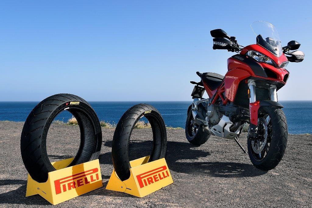 motorrad news pirelli scorpion trail ii auf multistrada. Black Bedroom Furniture Sets. Home Design Ideas