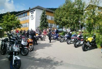 Motorrad Hotel PANORAMA Hotel Oberwiesenthal