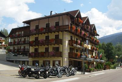 Motorrad Hotel MoHo Monte Giner