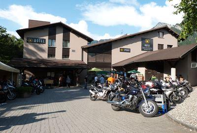 Motorrad Hotel MoHo Sportcenter 5 Dörfer