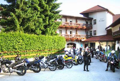 Motorrad Hotel Hotel zur Post