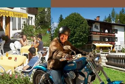Motorrad Hotel Bikergasthof Alpenhof-Annaberg
