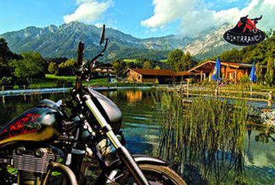 Motorrad Hotel Bikerranch