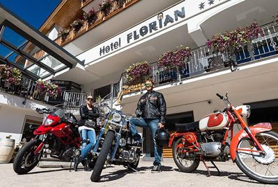Motorrad Hotel MoHo Hotel Florian