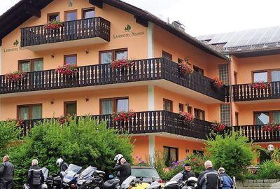 Motorrad Hotel MoHo Landhotel Neuhof