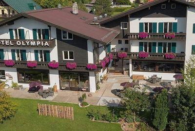 Motorrad Hotel MoHo Olympia-Hotel Garni