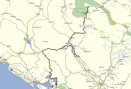 Motorrad Tour Montenegro 21.05. - 27.05.2015