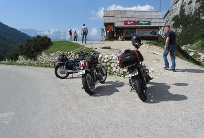 Motorrad Tour Über die Nockalmstraße nach Slowenien