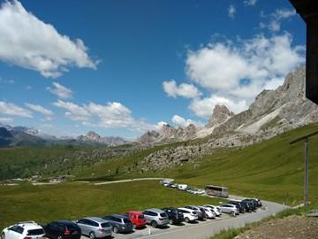 Motorrad Tour Südtiroler Dolomiten - kleine Sella-Runde