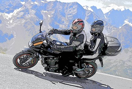 Motorrad Tour Briançon-Briançon Westalpen_7.8.2015