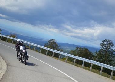 Motorrad Tour Transalpina Str.