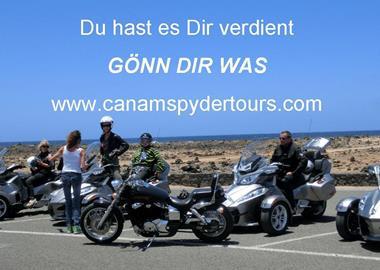 Motorrad Tour 8 std. Miete