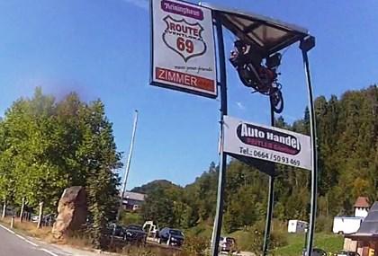 Motorrad Tour Route 69 - österreichische Toskana - Kärnten Slowenien