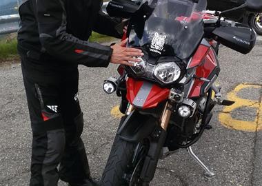 Motorrad Tour Rund um Bozen