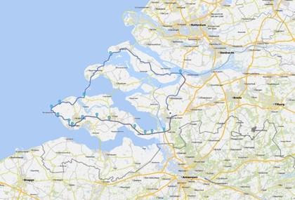 Motorrad Tour Zeeland Tour