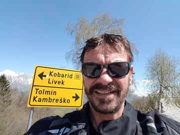 Motorrad Tour SLOWENISCH ITALIENISCHER GRENZKAMM CASTELMONTE