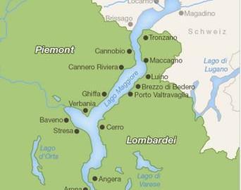 Motorrad Tour Lago Maggiore 620km