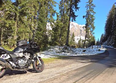 Motorrad Tour Achterschleife in den Alpen