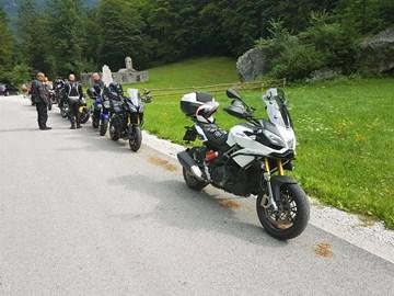 Motorrad Tour Motorradklinik Villach Ausfahrt Kärnten - Bohinjsko See - Slo Grenzkammstrasse