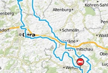 Motorrad Tour Horch Klassik 2017 - Zeitz (Schloss Moritzburg)