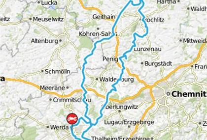 Motorrad Tour Horch Klassik 2016 - Colditz