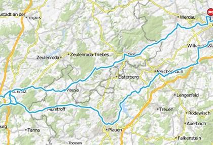 Motorrad Tour Horch Klassik 2015 - mit Schleizer Dreieck