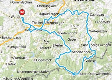 Motorrad Tour Horch Klassik 2014 - mit Abstecher zum Fichtelberg