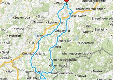 Motorrad Tour Horch Klassik 2013 - Bad Elster
