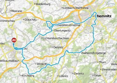Motorrad Tour Horch Klassik 2010 - Chemnitz & Sachsenring
