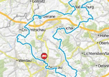 Motorrad Tour Horch Klassik 2011 - Schlössertour