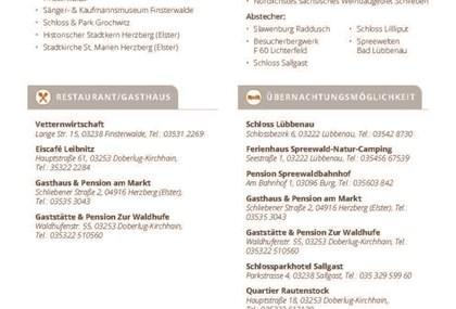 Motorrad Tour Tagestour von Lübbenau nach Herzberg (Elster)