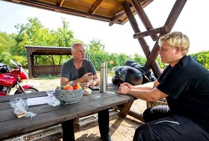 Motorrad Tour Picknicktour von Mühlberg/Elbe nach Doberlug-Kirchhain
