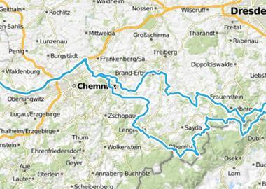 Karte Tschechien.Motorrad Touren Tschechien