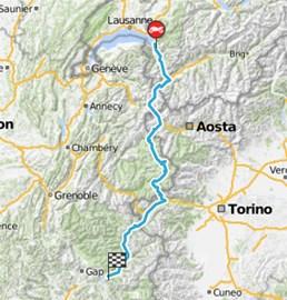 Motorrad Tour 8-Tage-Tour - Tag 2 - Montreux (CH) > Savines-le-Lac (F)