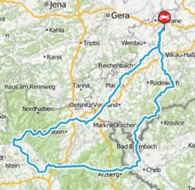 Motorrad Tour Vogtlandtour - Knusperschnitzel