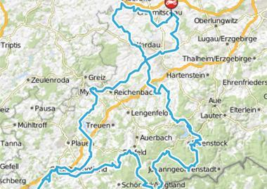 Motorrad Tour westsächsische Talsperrentour II