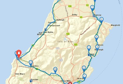 Motorrad Tour 9-Tage-Tour - Isle of Man - Tag 4 - der Norden
