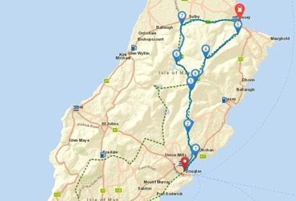 Motorrad Tour 9-Tage-Tour - Isle of Man - Tag 3