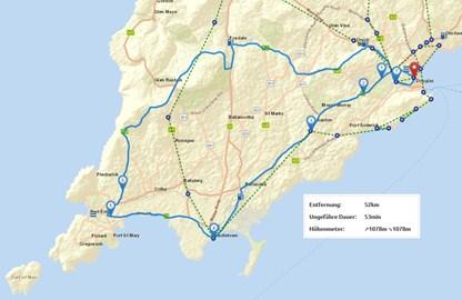 Motorrad Tour 9-Tage-Tour - Isle of Man - Tag 6