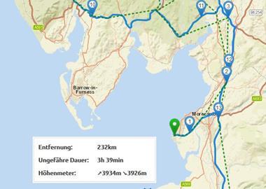 Motorrad Tour 9-Tage-Tour - Isle of Man - Tag 7