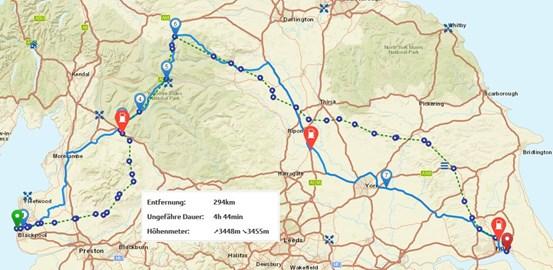 Motorrad Tour 9-Tage-Tour - Isle of Man - Tag 8